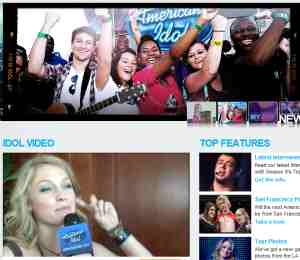 American Idol Website