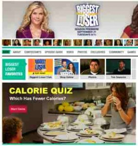 Biggest Loser Website